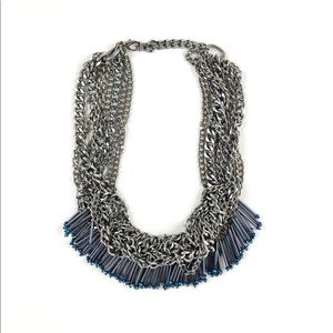 Jumbled chain necklace